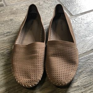 Adam Tucker perforated slip ons Size 8.5